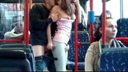 Bonnie Shai - Mofos porno - šukání v autobuse