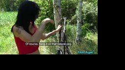 PublicAgent -  krásná brunetka Aria Rossi souloží za rychlý prachy pro amíky 113