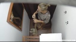 CzechMassage / Česká erotická masáž díl č. E069 - krásná blondýnka si užila romantickou sexuální masáž