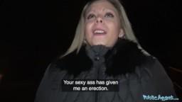 PublicAgent - našel sexy blonďatou prdelku v ulicích