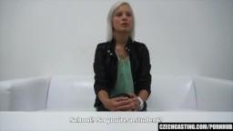 CzechCasting - blondýnka Nikola