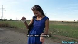 PublicAgent / Rychlý Prachy - krásná mladá česká dívka Cindy Shine mu ho podrží za prachy