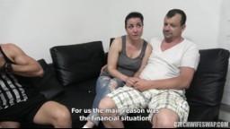 CzechWifeSwap 8 part 1 - dva amatérské páry si vymění manželky, které jim splní jejich sexuální touhy