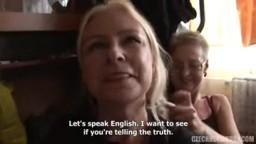 Czech Home Orgy 4 - nadržené české amatérky si užívají na párty