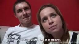 Czech Mega Swingers 11 - amatérské páry okusí prní skupinový sex