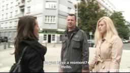 CzechCouples E10 - České páry z ulice - modrooká nadržená blondýnka