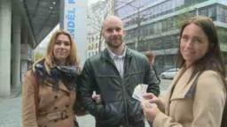 Czech Couples 16 - polední pauza v práci se změnila v sexuální nabídku za peníze českého páru