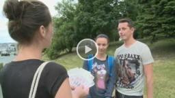 Czech Couples 14 - naivní studentka v parku - Andie Darling