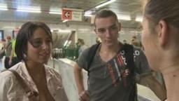 Czech Couples 6 - baculatá brunetka se rozzáří při nabídce nezávazného sexu za peníze
