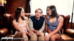 Pretty Dirty přemluví bratra k trojce s kamarádkou